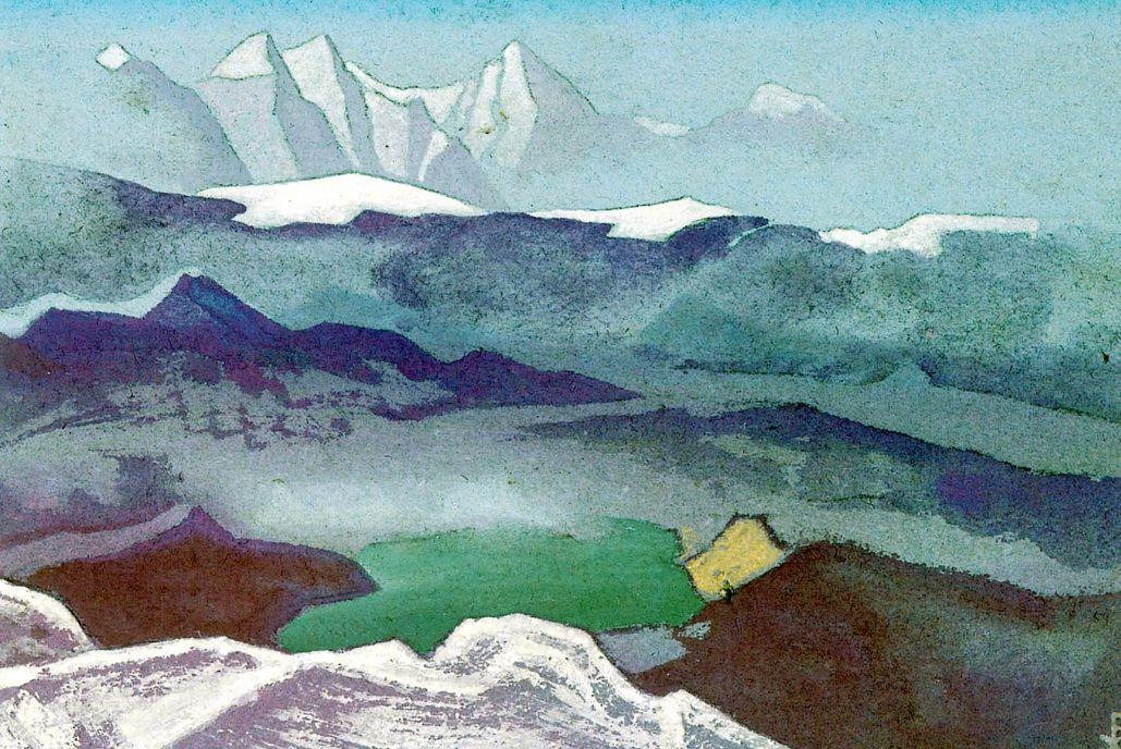 Николай Константинович Рерих. Корайдо (Видение горных снегов)