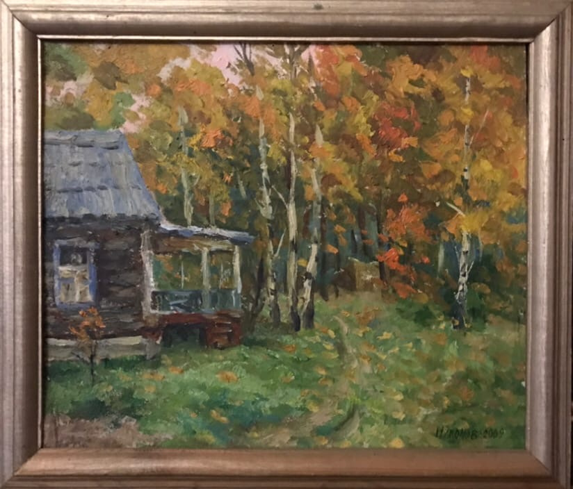 Nikolay Alekseevich Nasonov. October in the rest house