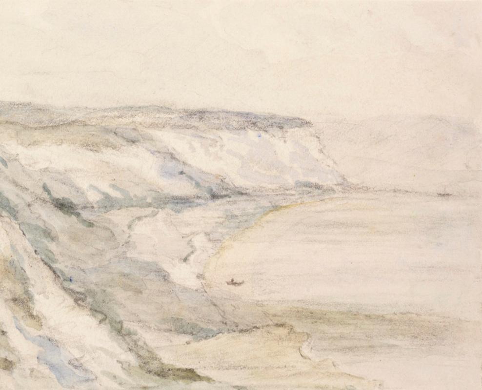 John Constable. The Dorset Coast