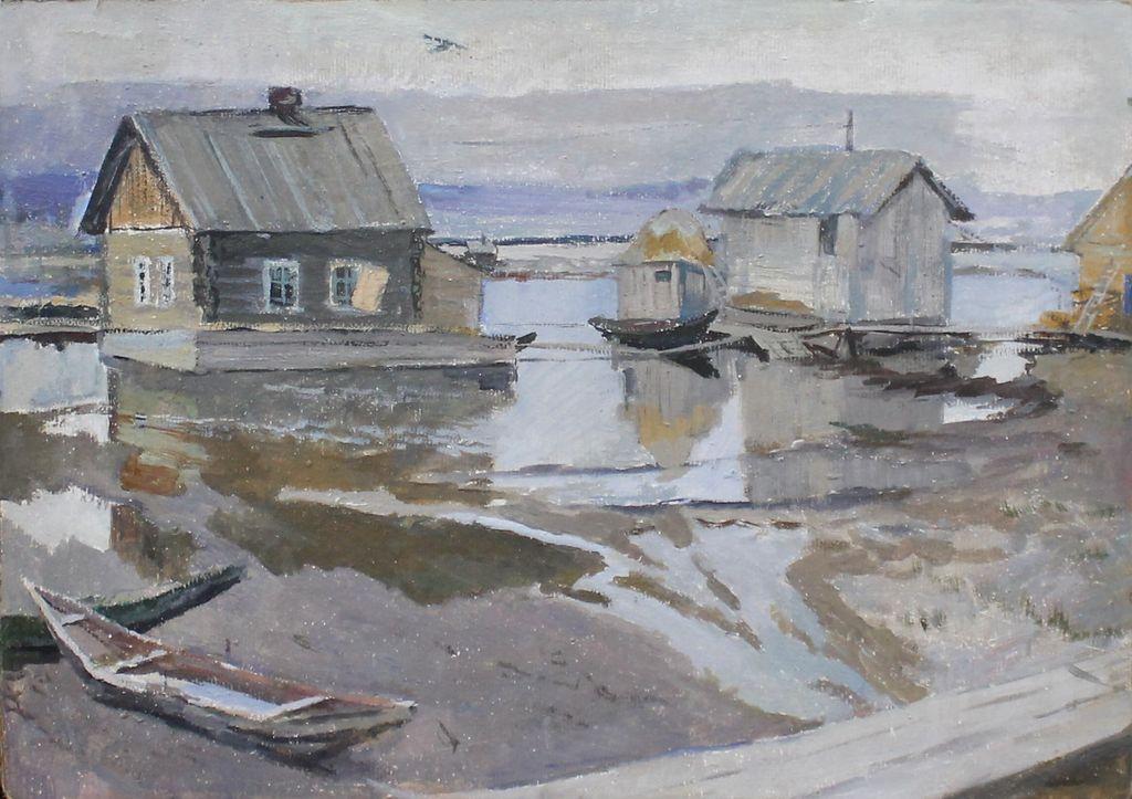 Boris Sergeevich Polomin. Flood