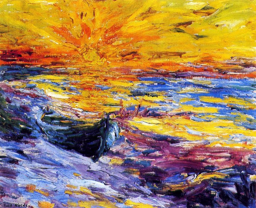 Эмиль Нольде. Закат солнца
