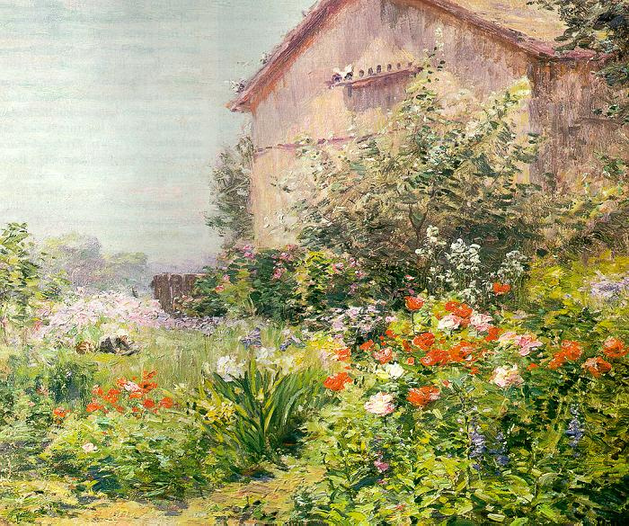Bicknell. House in the garden