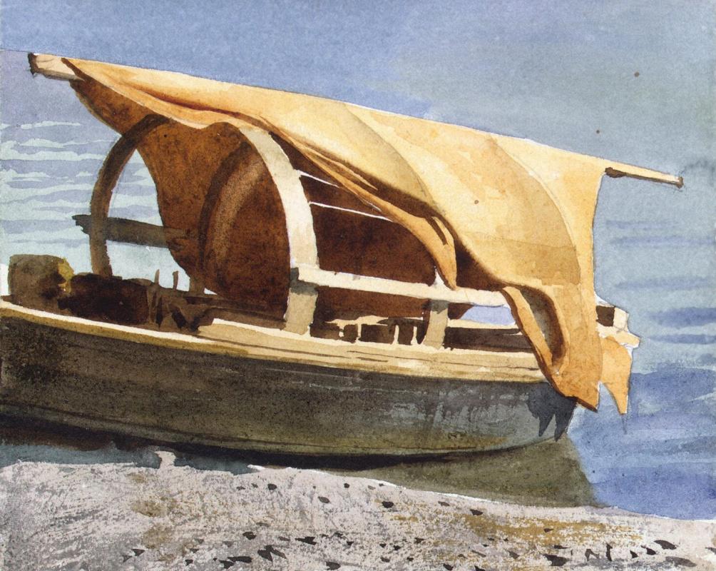 Луиджи Премацци. Лодка