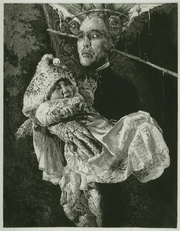 Alexandr Nikolaevich Steshenko. Родение куклы. Мастер Кукол лист 1