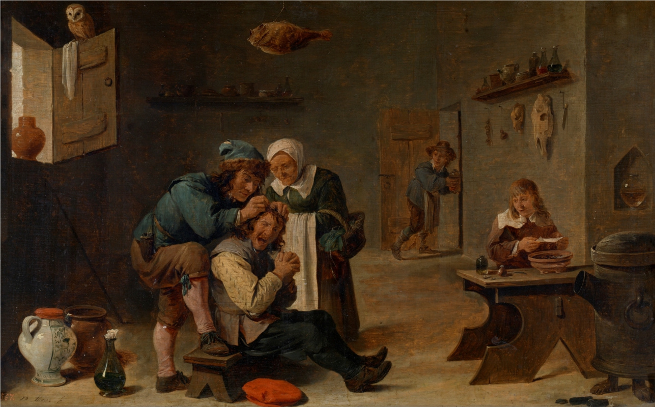 David Teniers the Younger. Surgery