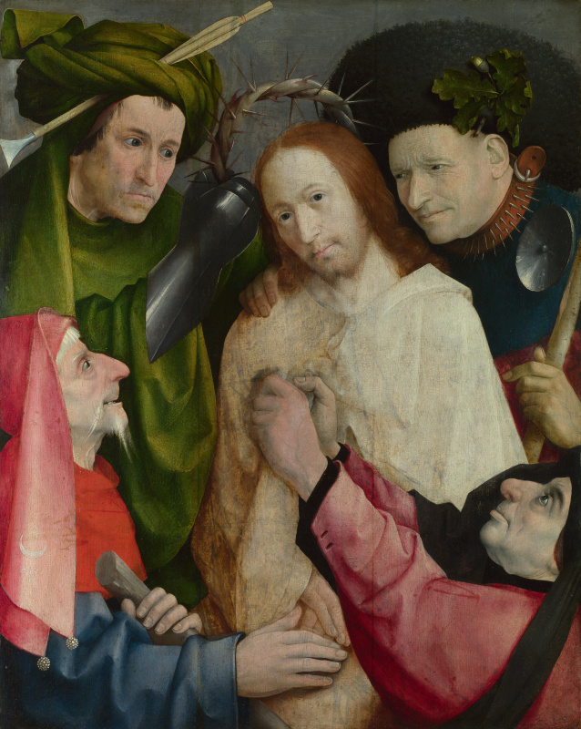 Hieronymus Bosch. The crowning with thorns