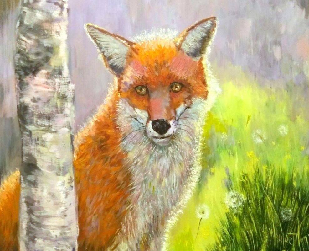 Наташа Монастырская. Morning with Fox
