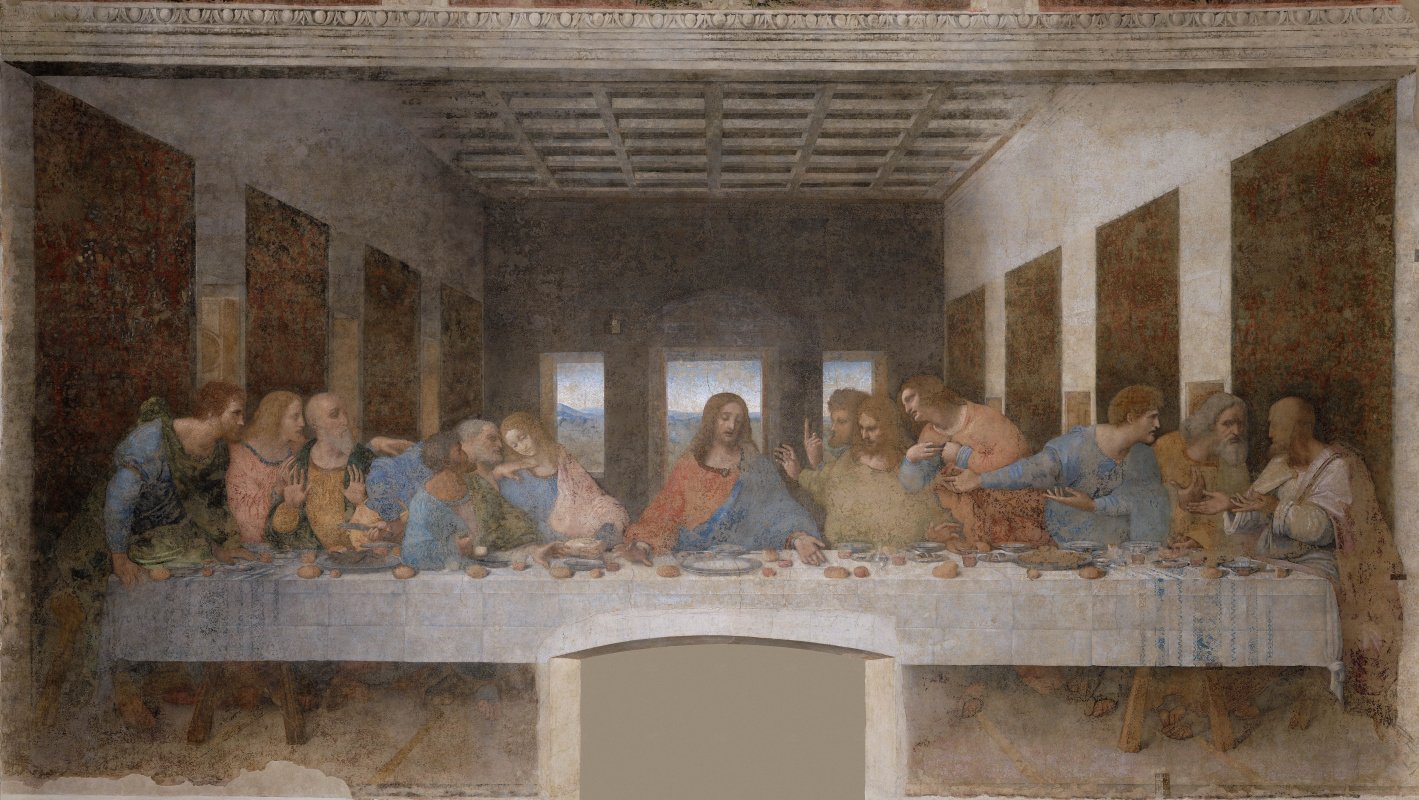 Leonardo da Vinci. The last supper