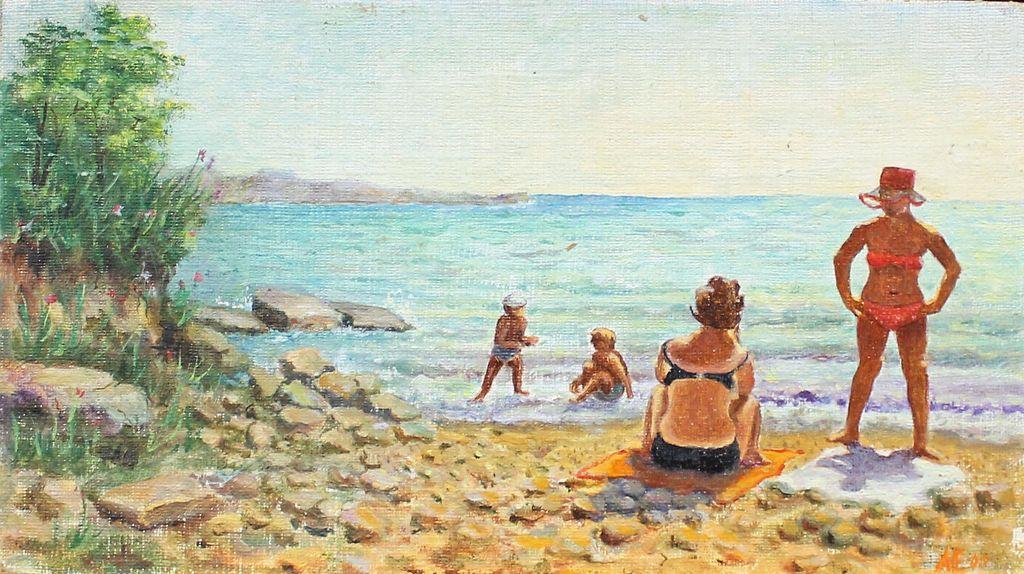 Anatoly Alexandrovich Elansky. Beach