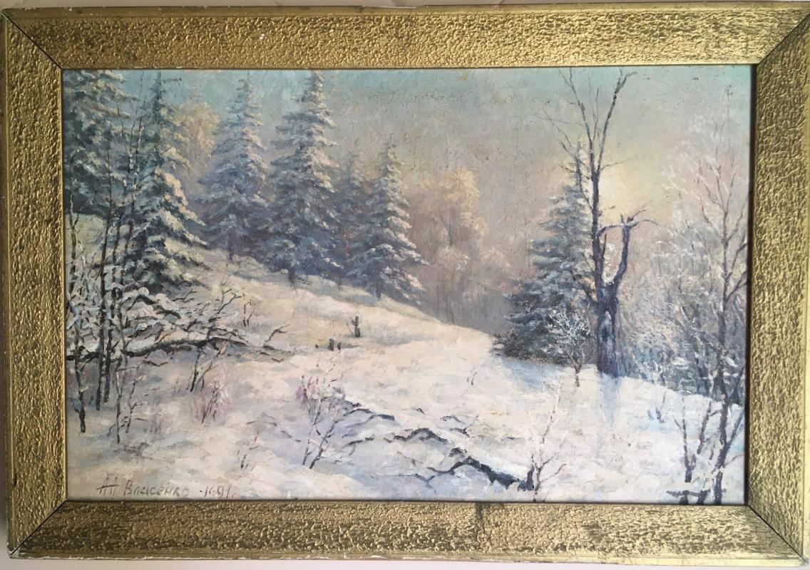 Alexander Afanasevich Vlasenko.. = Winter.January =