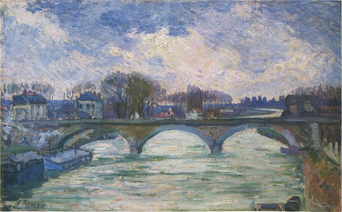 Анри Лебаск. Мост через Марне
