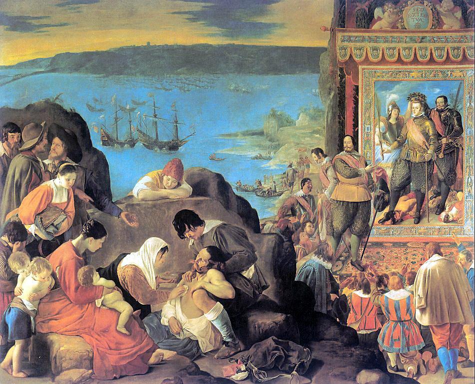 Хуан Баутиста дель Майно. Снятие со креста