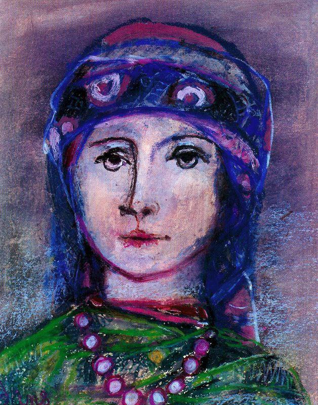 Данс Мария Антония Боадо. Портрет женщины