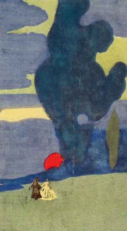 Wassily Kandinsky. Moonrise