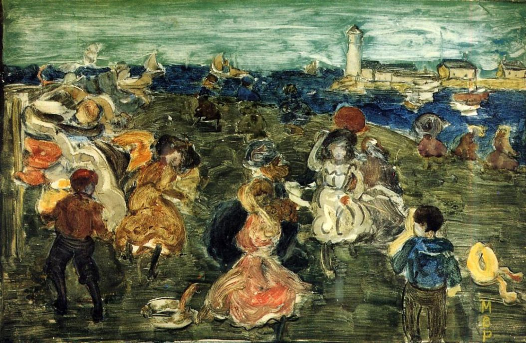 Maurice Braziel Prendergast. Lighthouse