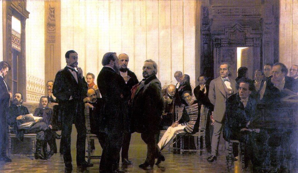 Ilya Efimovich Repin. Slavic composers (Collection of Russian, Polish and Czech musicians)