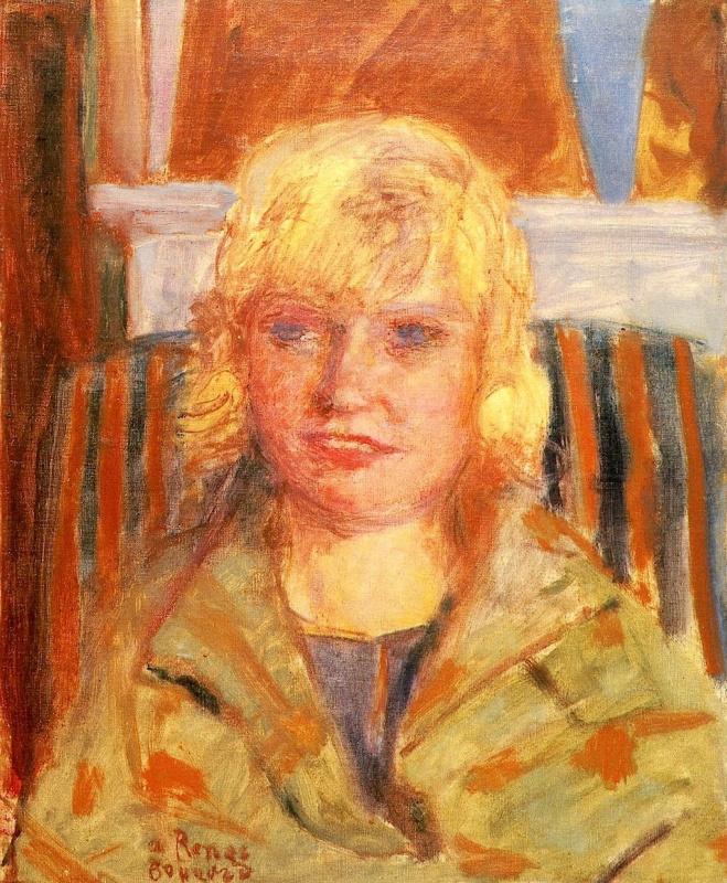 Pierre Bonnard. Portrait of Mademoiselle Renee Moneti