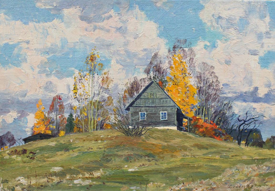 Anatoly Vasilevich Danilov. Autumn village