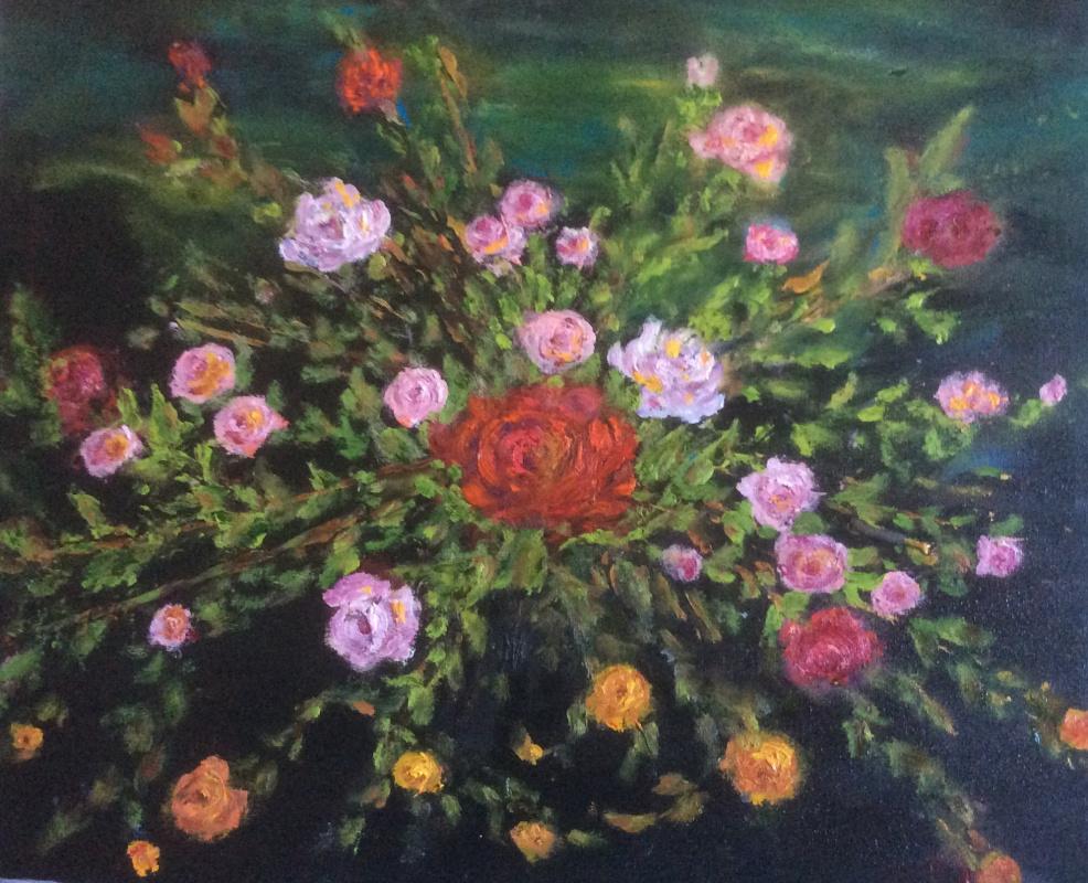 Rita Arkadievna Beckman. Фейерверк из роз