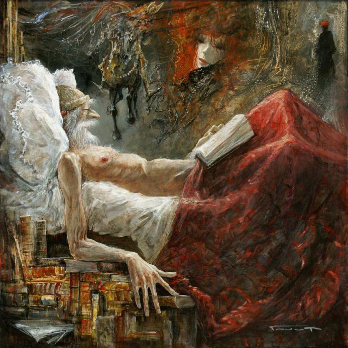 Marcel Pajot. Dreams of fame don Quixote