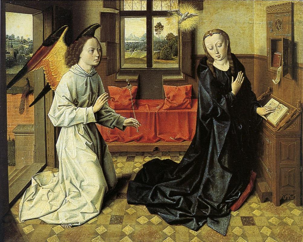 Дирк Баутс 1415-1475. Благовещение. 1465-1470