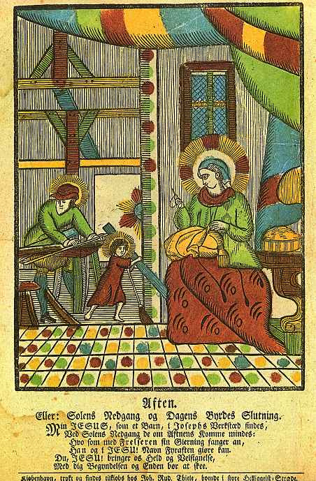 Иохан Рудольф Тиле. Вечерняя молитва