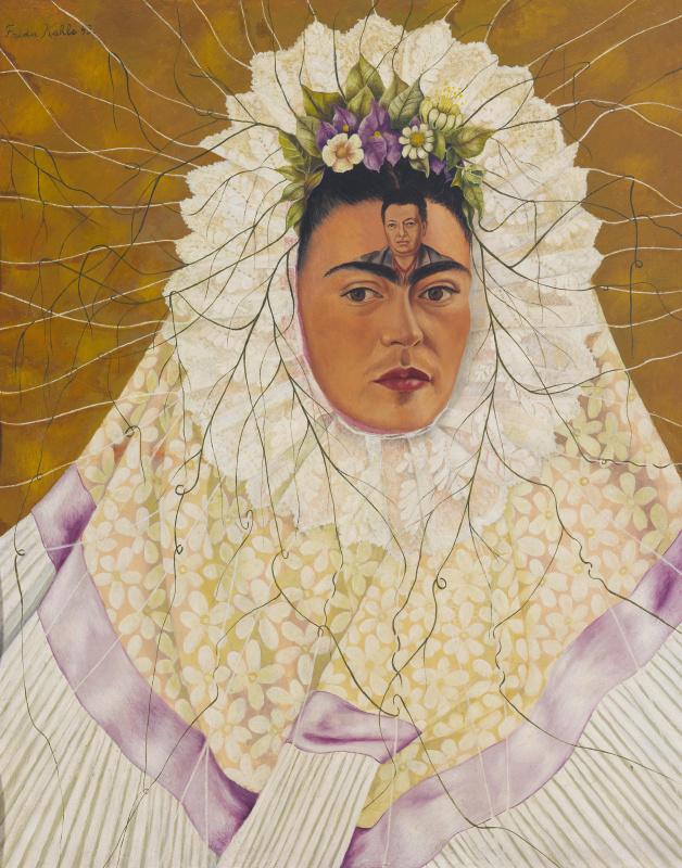 Frida Kahlo. Self Portrait as a Tehuana