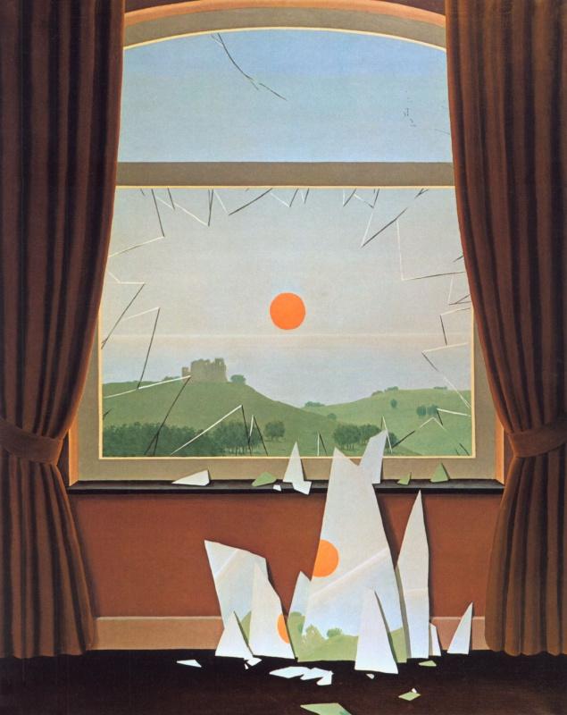 René Magritte. Evening