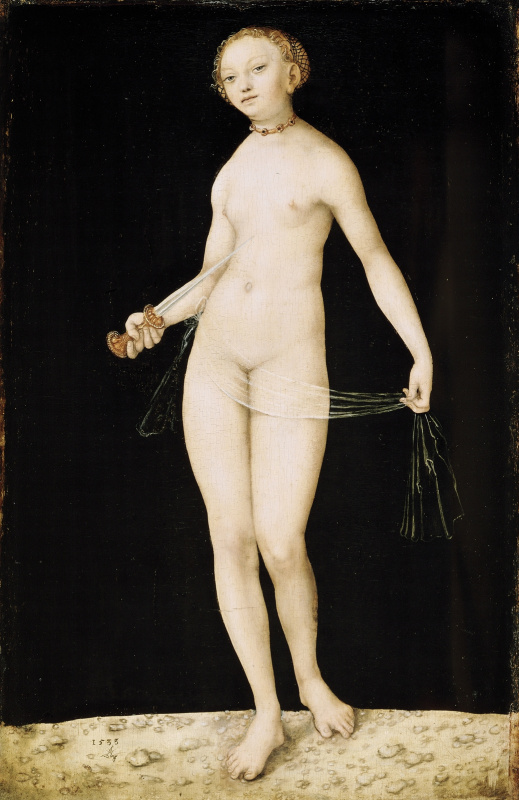 Lucas Cranach the Elder. Lucrezia