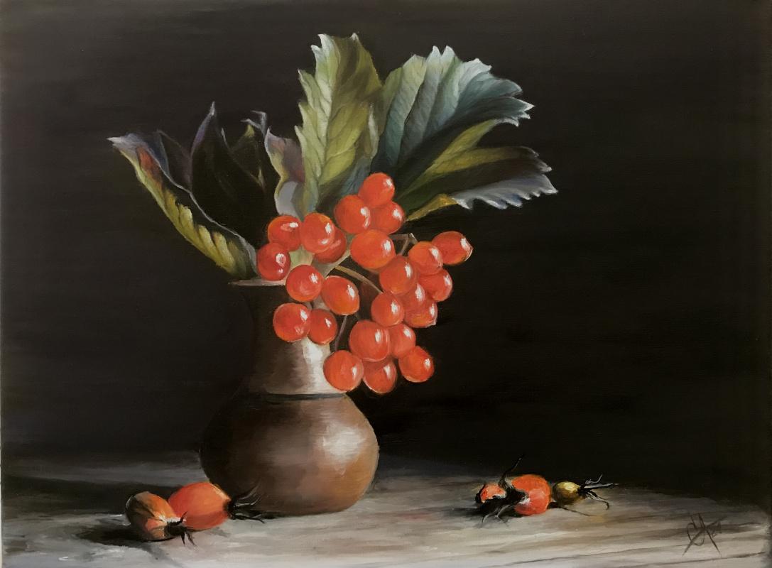 Svetlana Arkhipova. Currant in a jug
