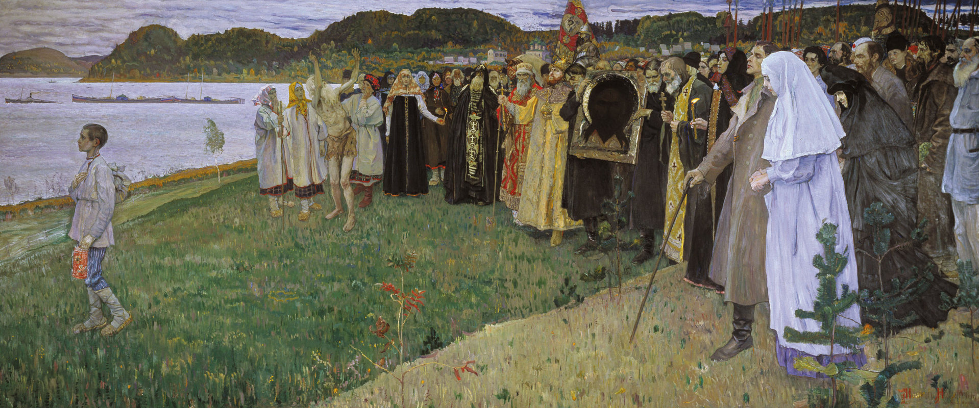 Mikhail Vasilyevich Nesterov. In Russia (Soul of the people)