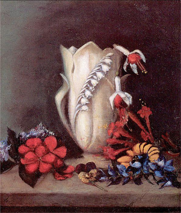 Эвелина Гора. Белая ваза
