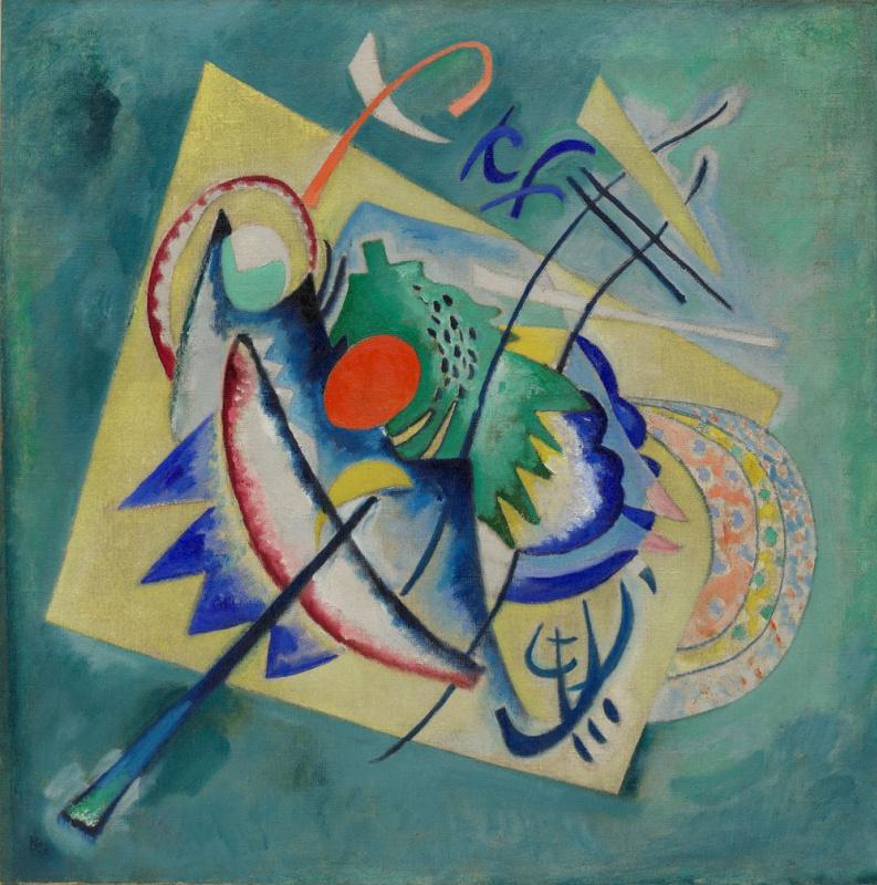 Wassily Kandinsky. Red oval