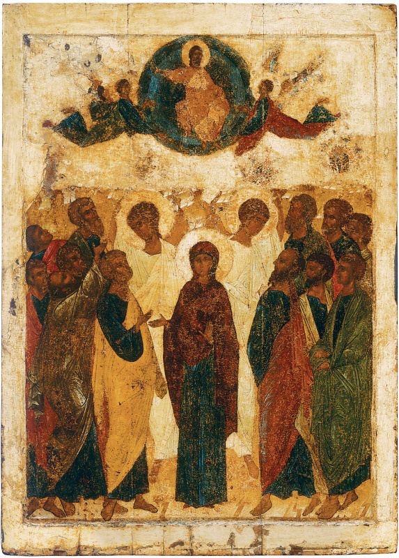 Andrey Rublev. Ascension of Christ
