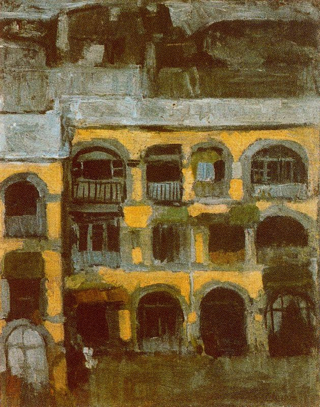 Пабло Пикассо. Голубой дом