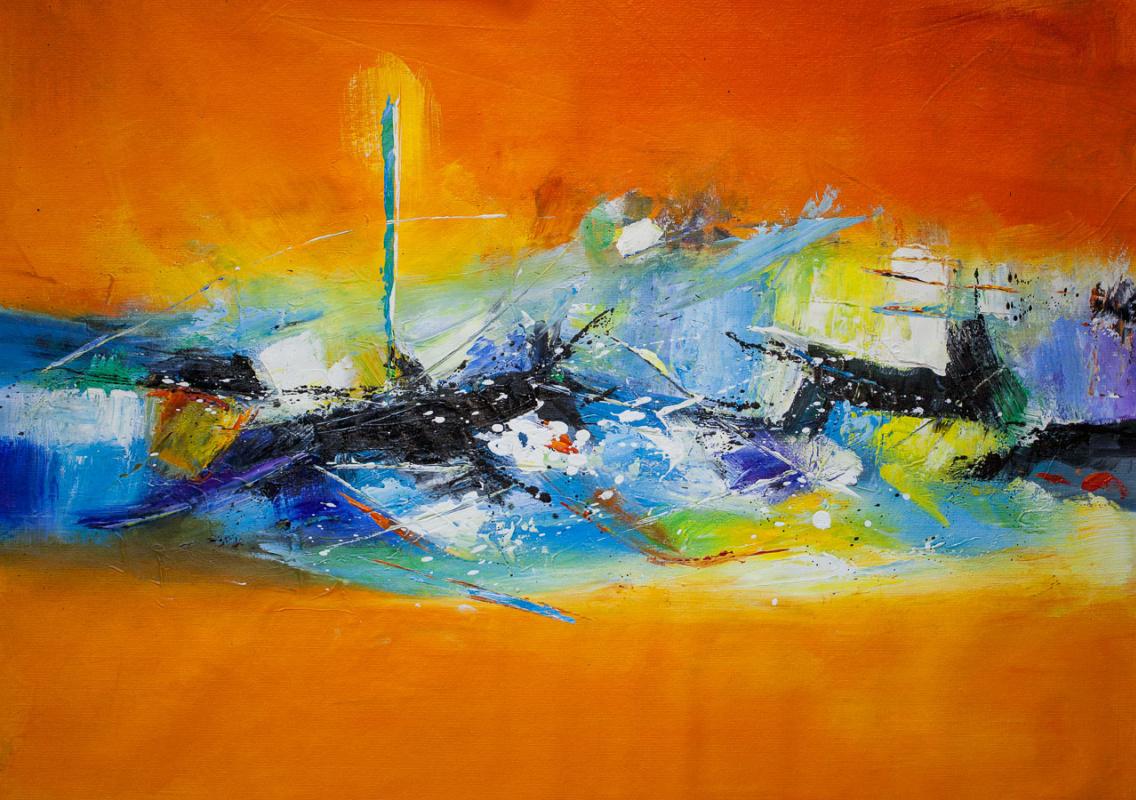 Christina Viver. Abstraction. sunny Beach