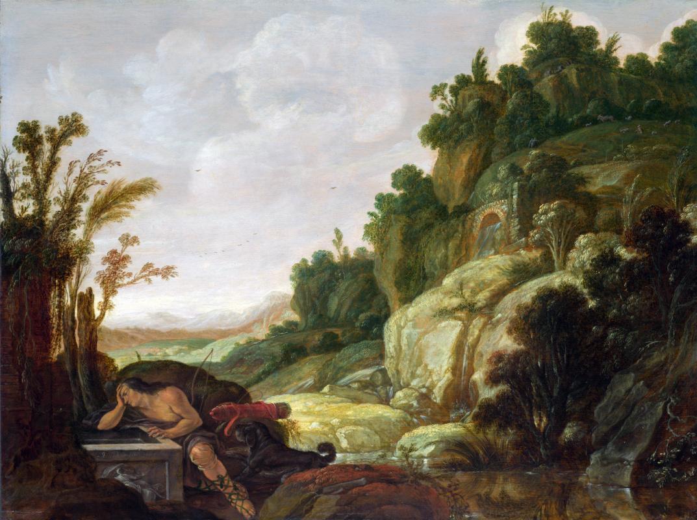 Яков Пинас. Горный пейзаж