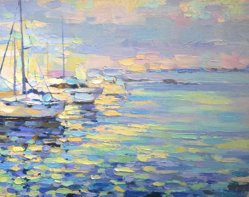 Natalia Valerievna Chepulskaya. Yachts. Odessa
