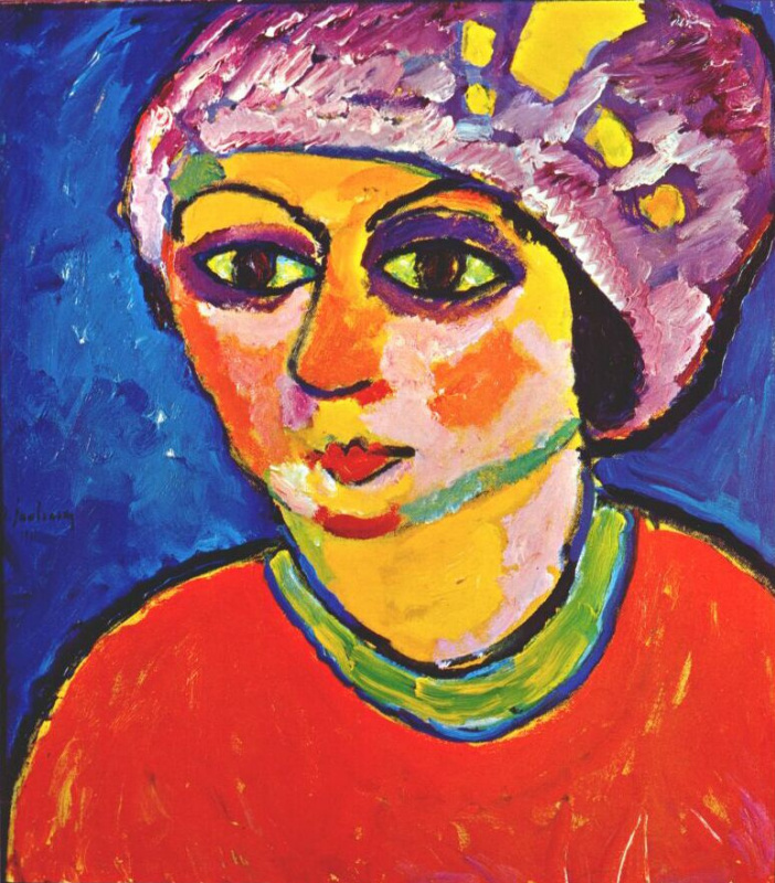 Alexey Georgievich Yavlensky. Purple turban