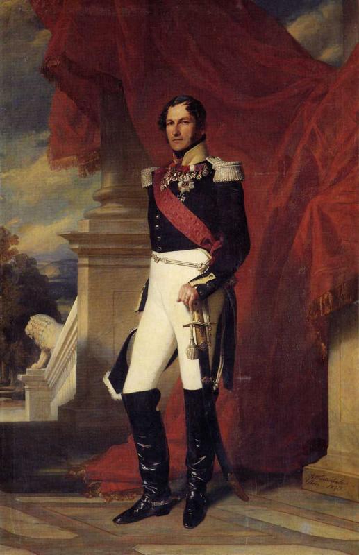 Франц Ксавер Винтерхальтер. Леопольд I, король Бельгии