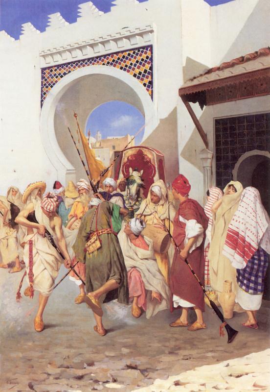 Марокканский свадебный танец