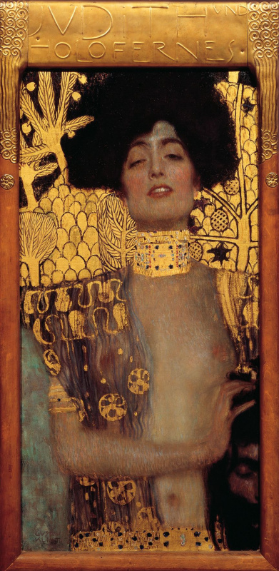Gustav Klimt. Judith and Holofernes