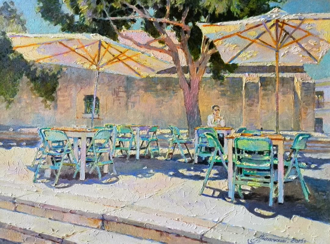 George Lapchinsky. Hot afternoon