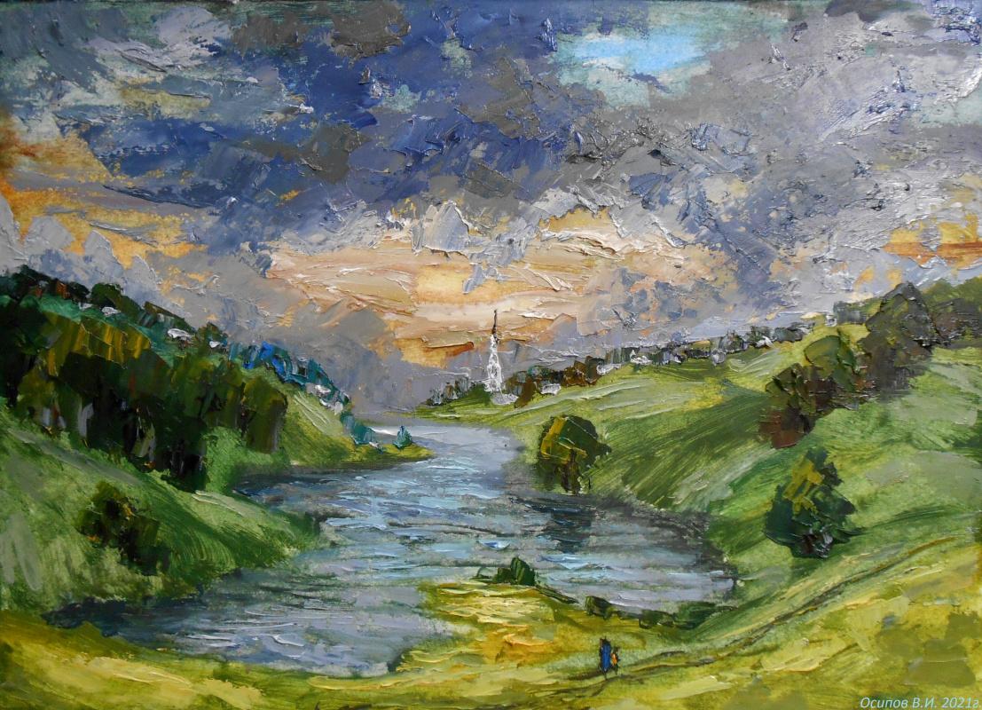 Владимир Иванович Осипов. Cold cloud