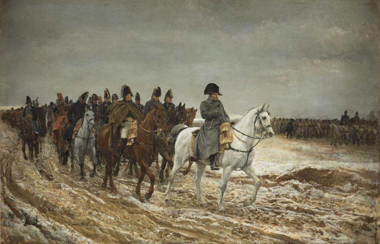 Жан-Луи-Эрнест Месонье. Французская кампания, 1814