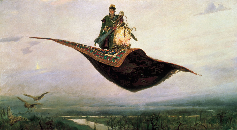 Виктор Михайлович Васнецов. Ковер-самолет