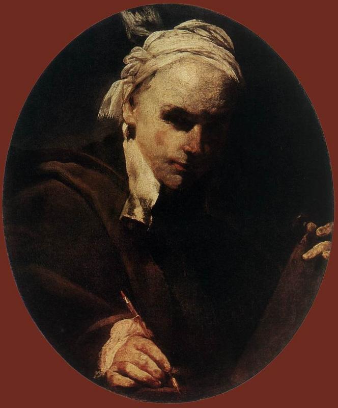 Джузеппе Мария Креспи. Автопортрет