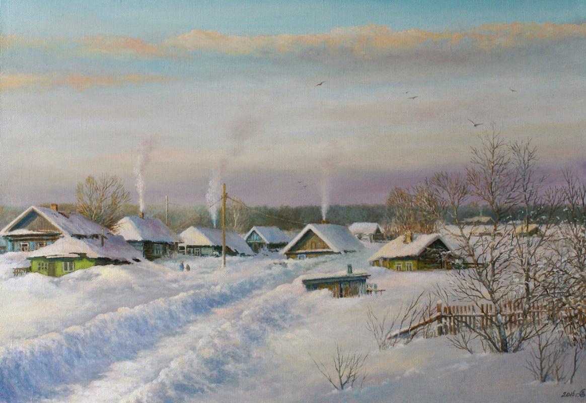 Сергей Владимирович Дорофеев. Evening frost