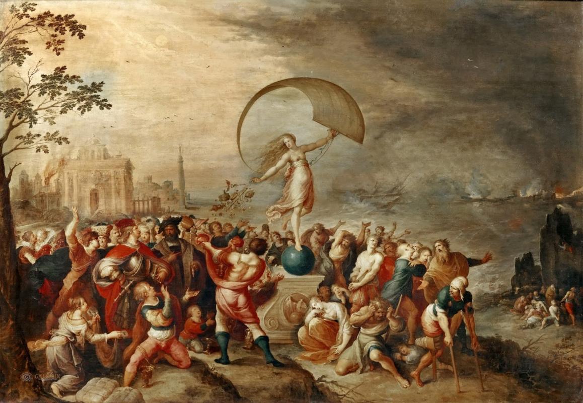 Франс Франкен Младший. Аллегория удачи. 1615-1620