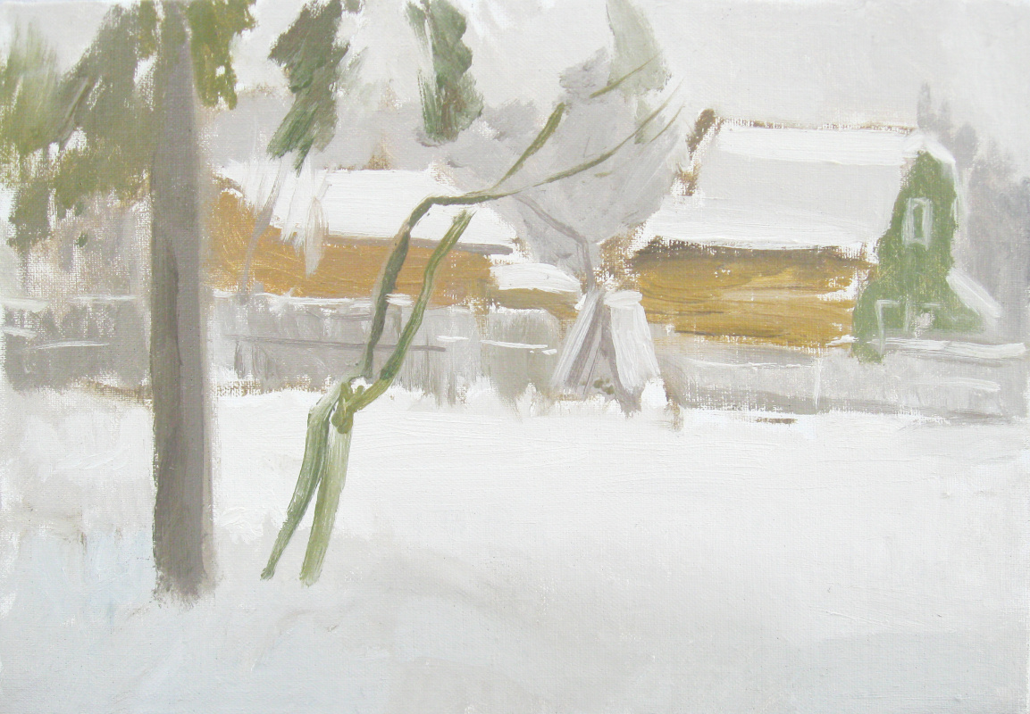 Igor Vladimirovich Mashin. After snowfall